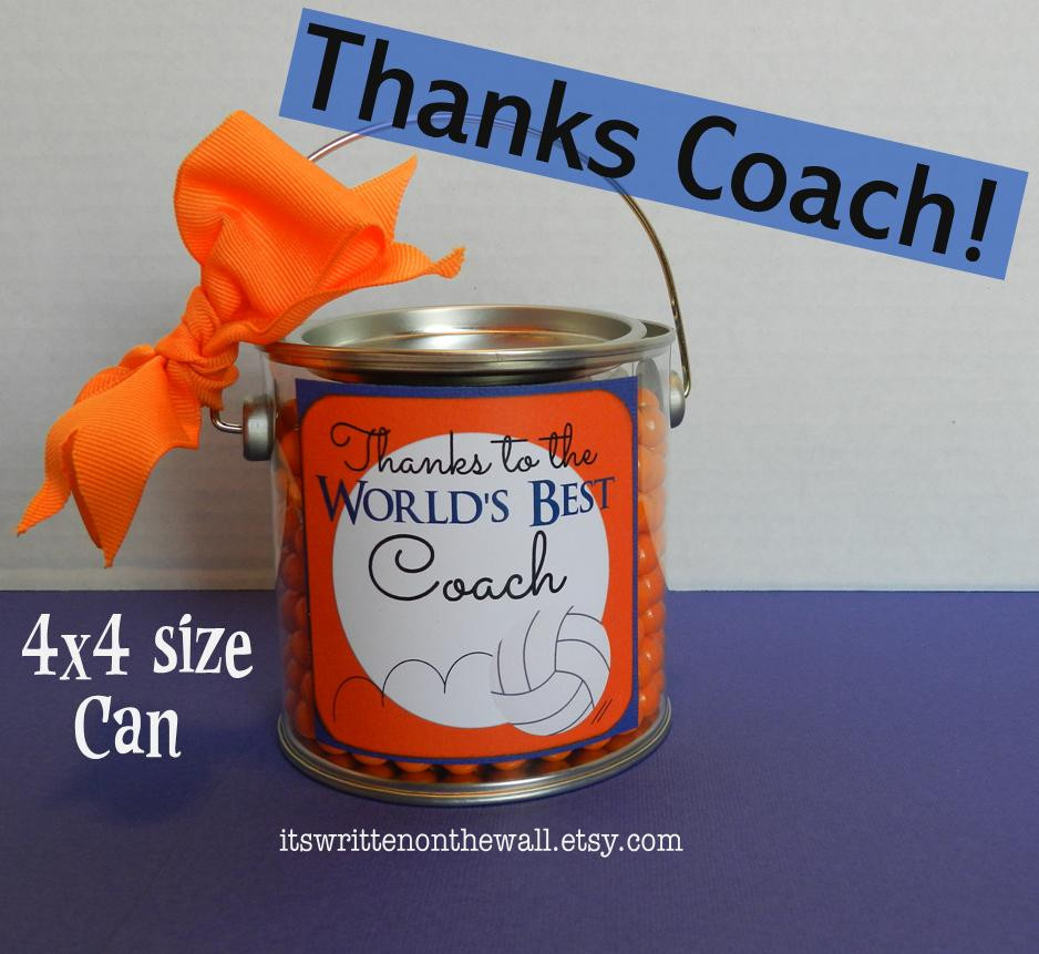 "Best ideas about Coaches Gift Ideas . Save or Pin It s Written on the Wall ""Thanks Coach"" Gift Card & Gift Now."