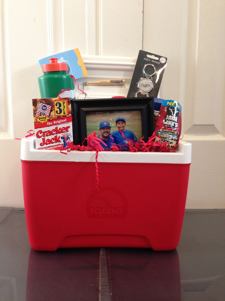 Best ideas about Coaches Gift Ideas . Save or Pin Ice Chest full of goo s for a Coach s t Now.