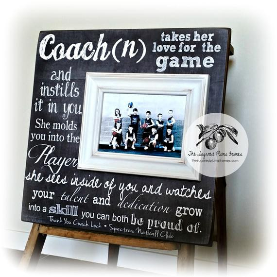 Best ideas about Coaches Gift Ideas . Save or Pin Personalized Coach Thank You Gift Coach Gift Ideas Now.