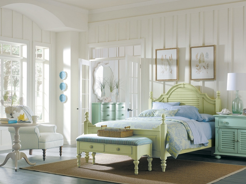 Best ideas about Coastal Bedroom Furniture . Save or Pin Bronze Lady Home What s your style light or dark Now.