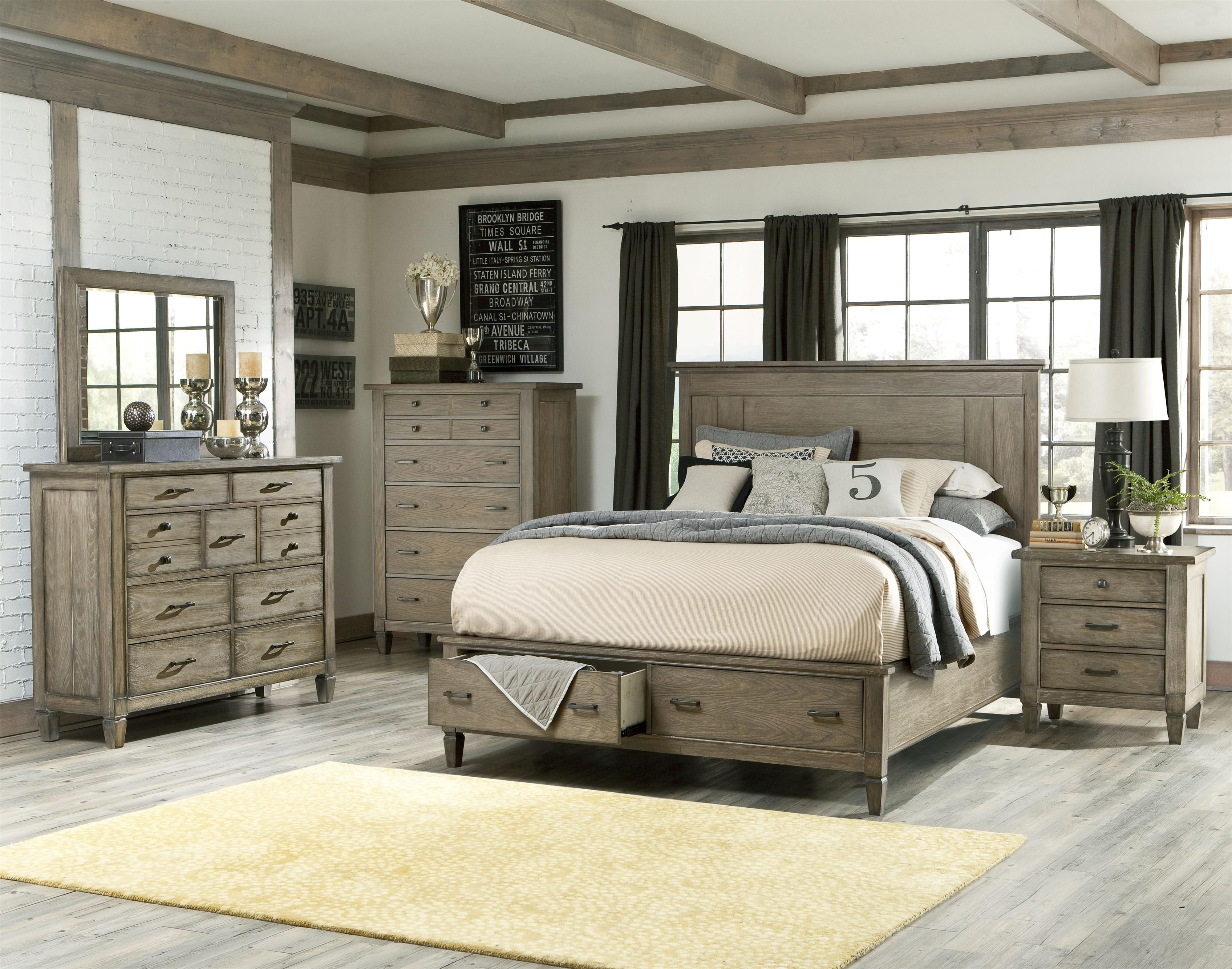Best ideas about Coastal Bedroom Furniture . Save or Pin Coastal Master Bedroom Ideas Brownstone 3pc Bed Mirror Now.