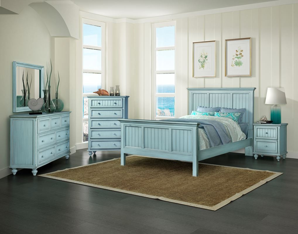 Best ideas about Coastal Bedroom Furniture . Save or Pin Monaco Casual Bedroom Collection BLEU Now.