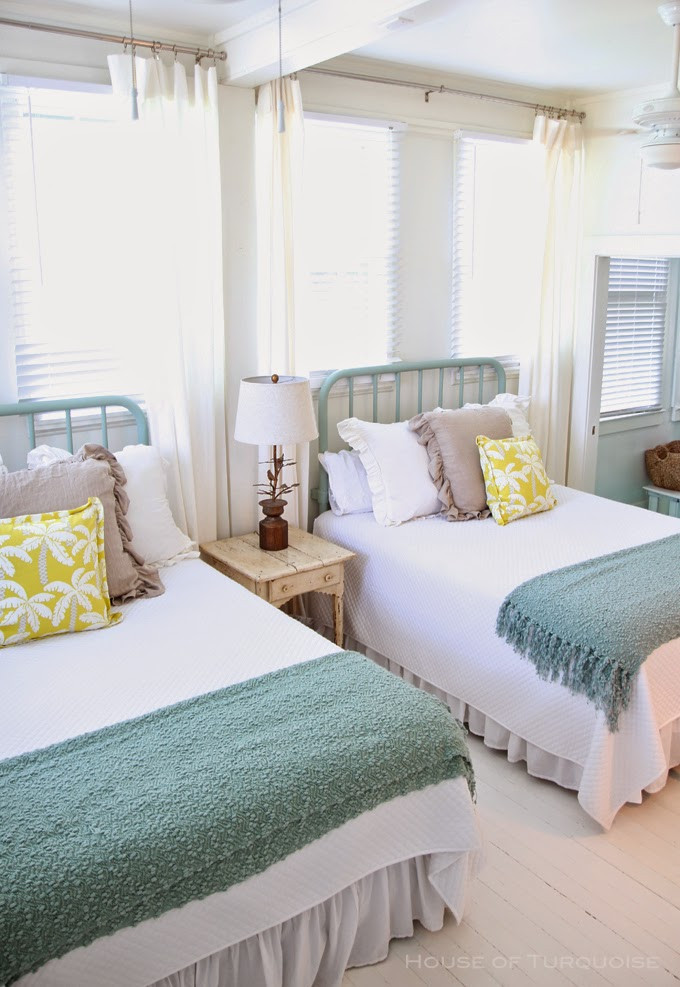 Best ideas about Coastal Bedroom Ideas . Save or Pin 22 Guest Bedrooms with Captivating Twin Bed Designs Now.