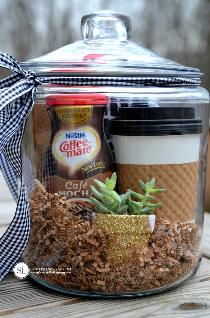 Best ideas about Coffee Gift Basket Ideas . Save or Pin Coffee Gift Basket BigDIYIdeas Now.