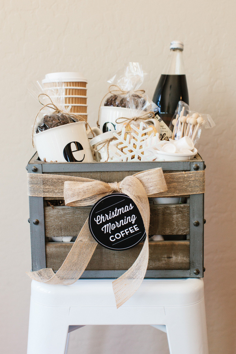 Best ideas about Coffee Gift Basket Ideas . Save or Pin 50 DIY Gift Baskets To Inspire All Kinds of Gifts Now.