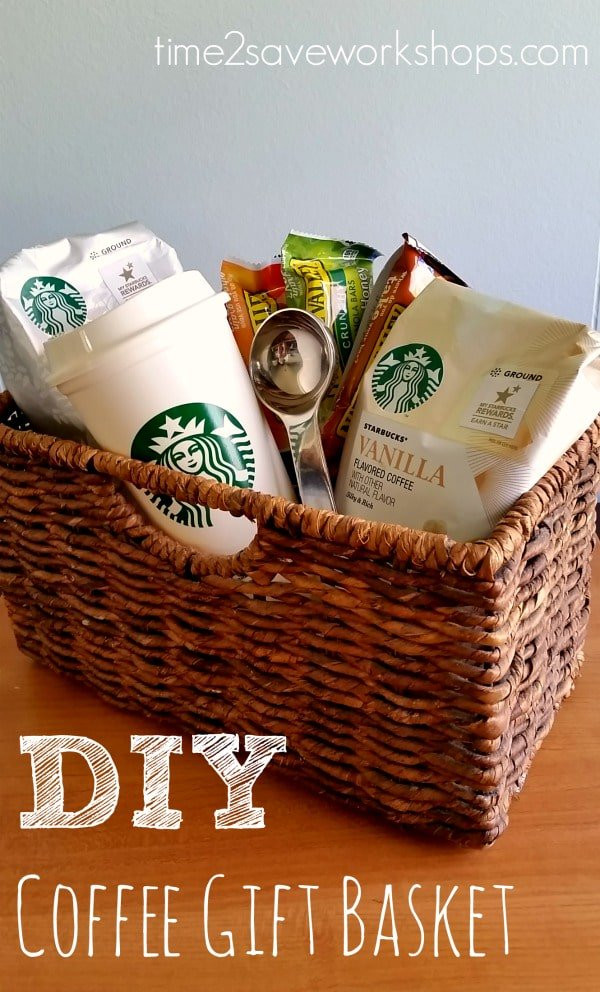 Best ideas about Coffee Gift Basket Ideas . Save or Pin 13 Themed Gift Basket Ideas for Women Men & Families Now.