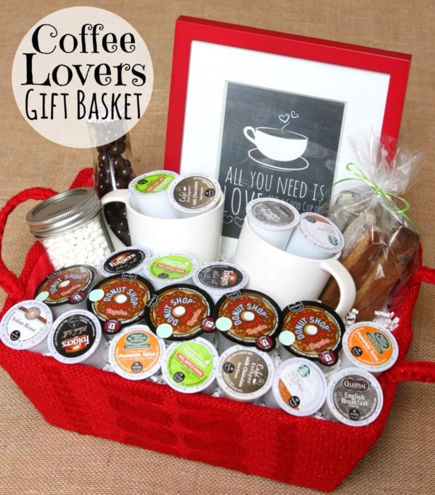 Best ideas about Coffee Gift Basket Ideas . Save or Pin 32 Homemade Gift Basket Ideas for Men Now.