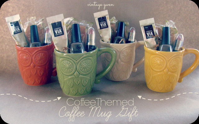 Best ideas about Coffee Mug Gift Ideas . Save or Pin Vintage Gwen Coffee Themed Coffee Mug Gift Now.