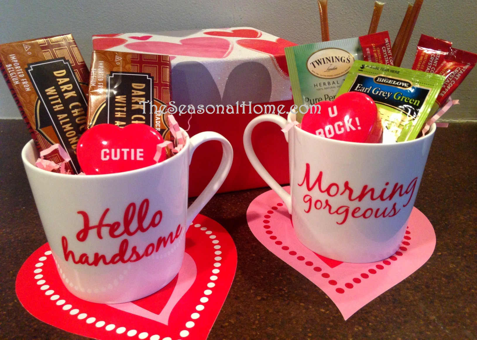 Best ideas about Coffee Mug Gift Ideas . Save or Pin Valentine Kisses & Hugs D I Y Decor & Gift Idea The Now.