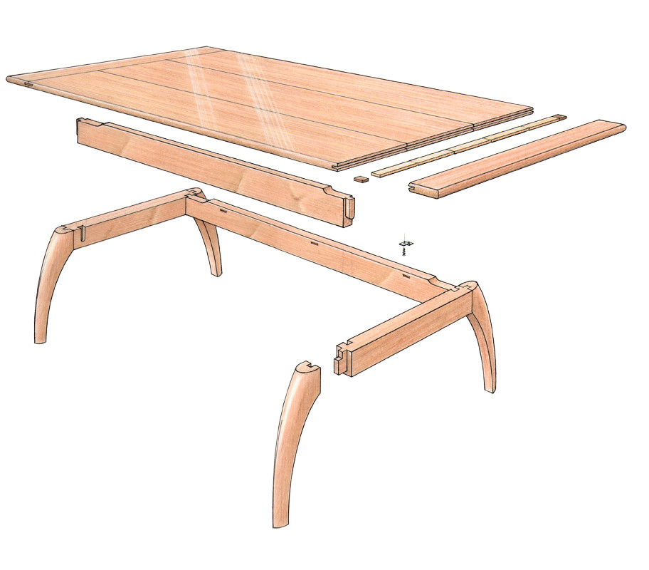 Best ideas about Coffee Table Plans . Save or Pin Free Plan Mahogany Coffee Table FineWoodworking Now.