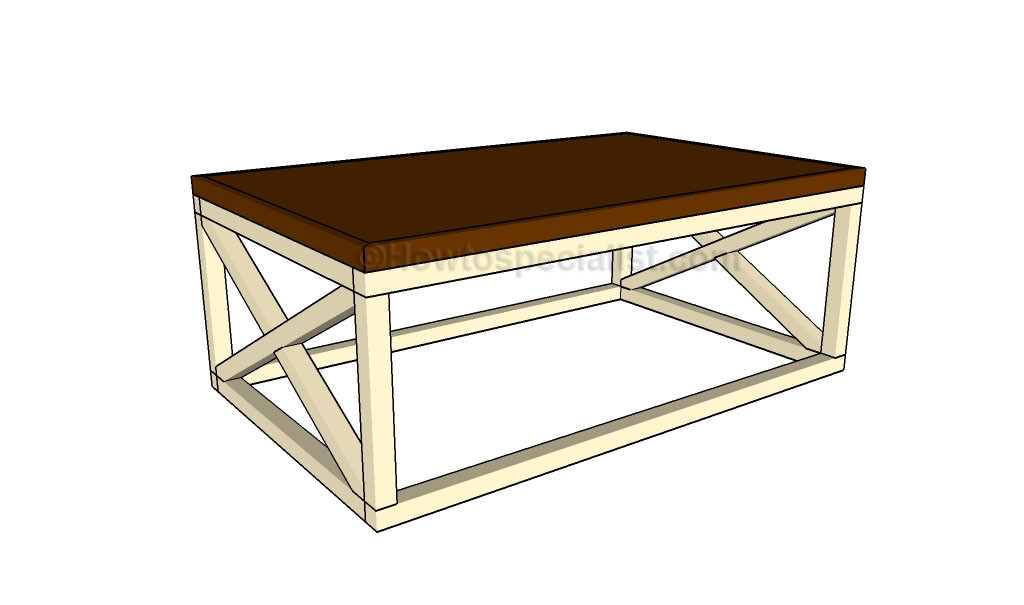 Best ideas about Coffee Table Plans . Save or Pin Rustic coffee table plans Now.