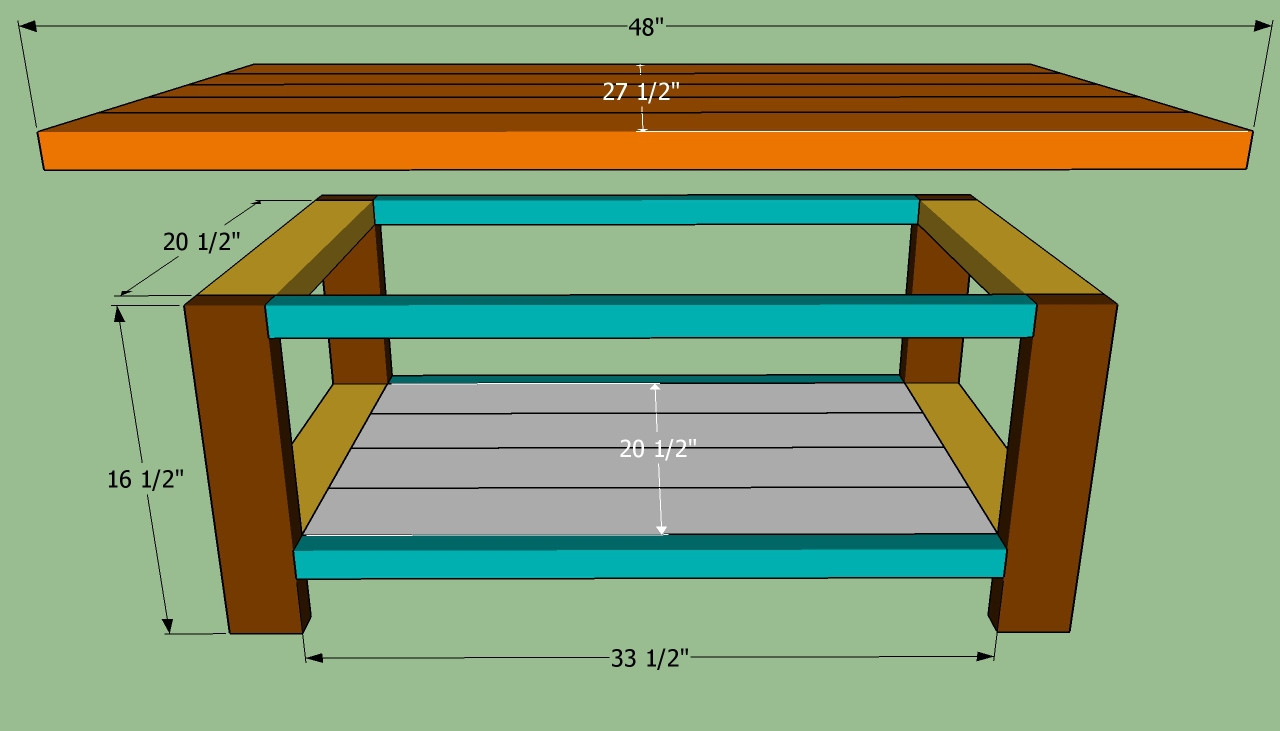 Best ideas about Coffee Table Plans . Save or Pin Coffee Table Plans Design s Now.