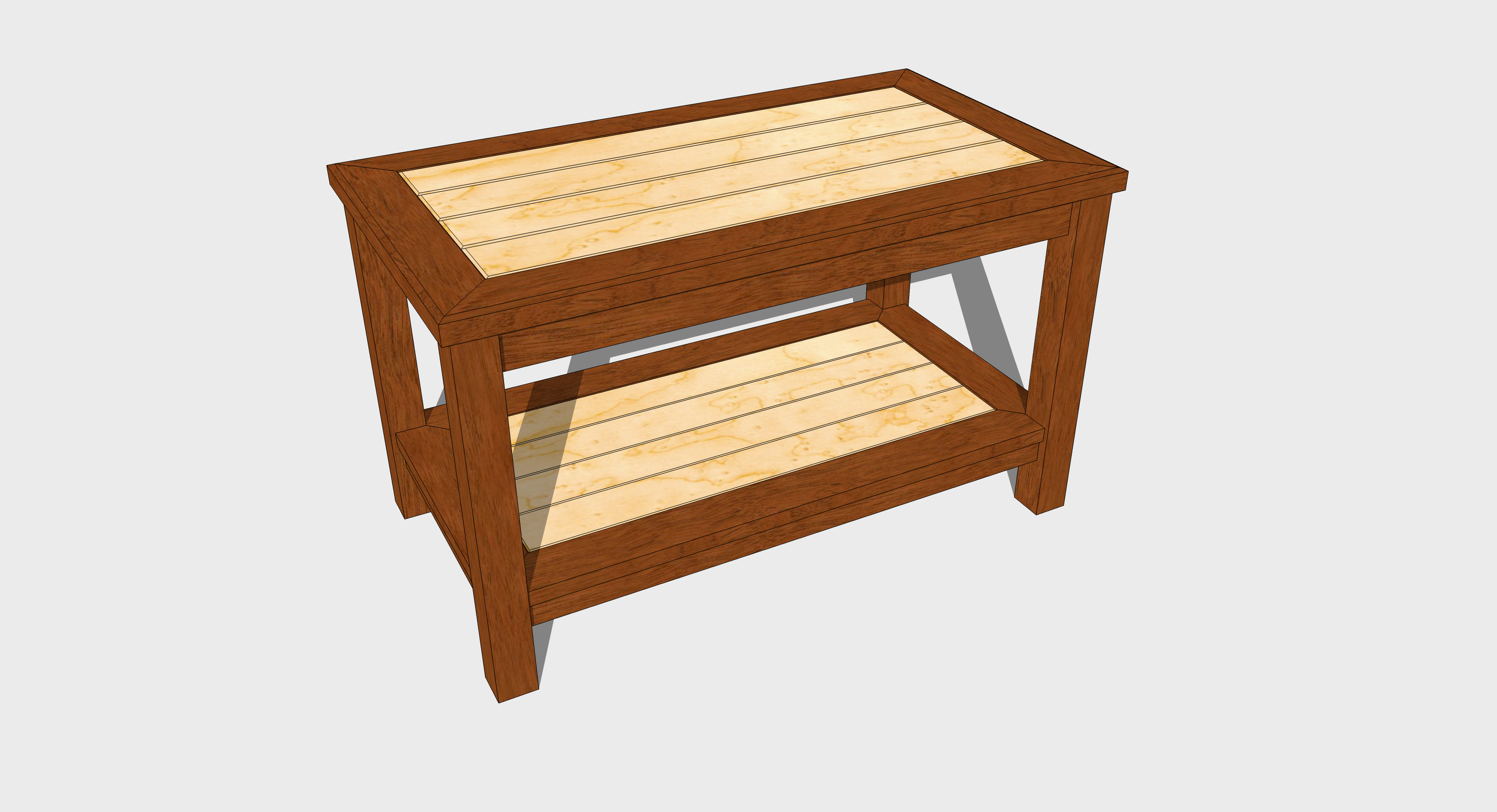 Best ideas about Coffee Table Plans . Save or Pin Free Coffee Table Woodworking Plan Now.