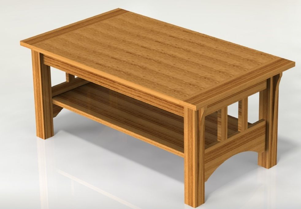 Best ideas about Coffee Table Plans . Save or Pin Mission Style Coffee Table Woodworking Plans Plans ly Now.