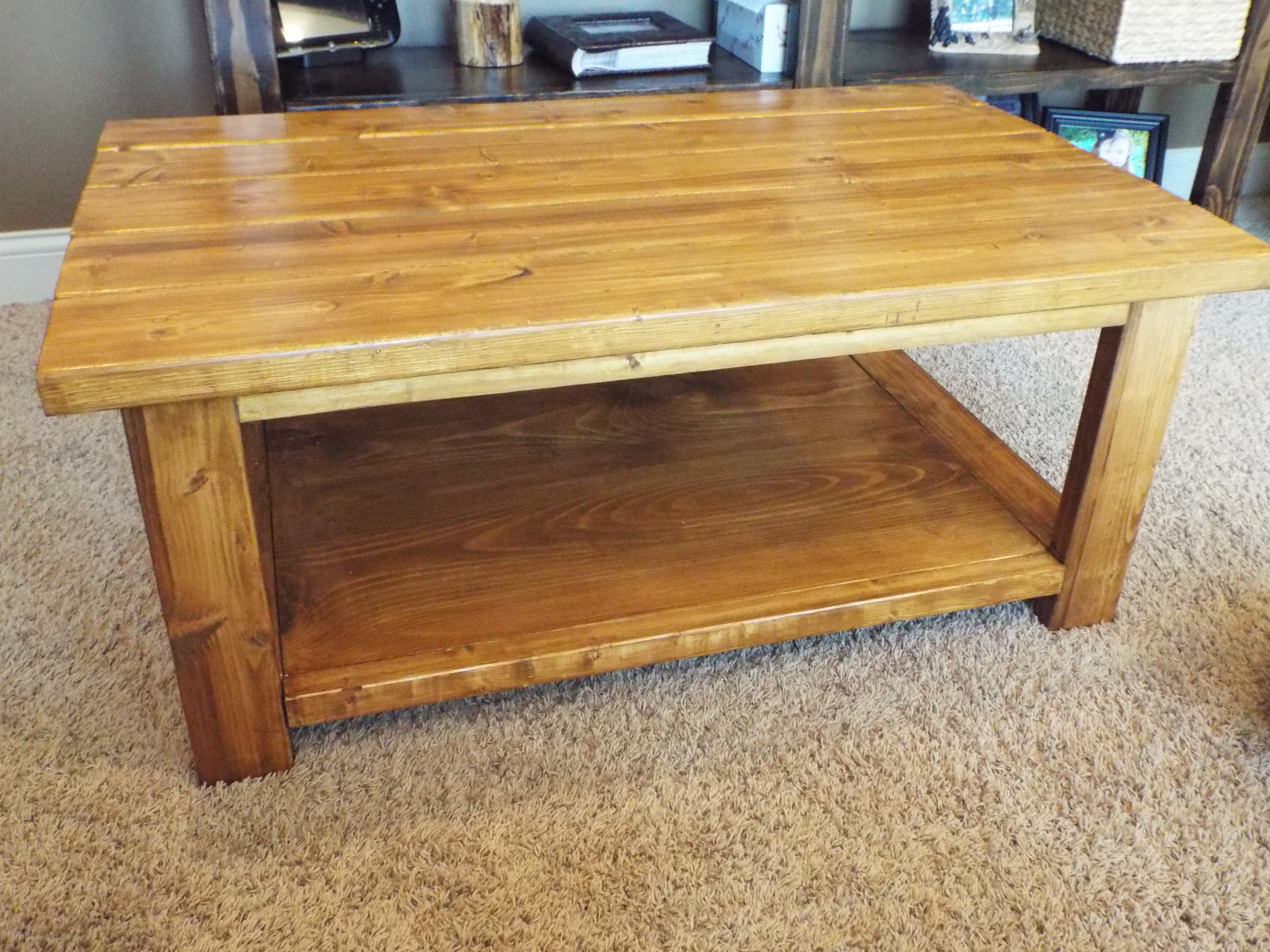 Best ideas about Coffee Table Plans . Save or Pin Pine Now.