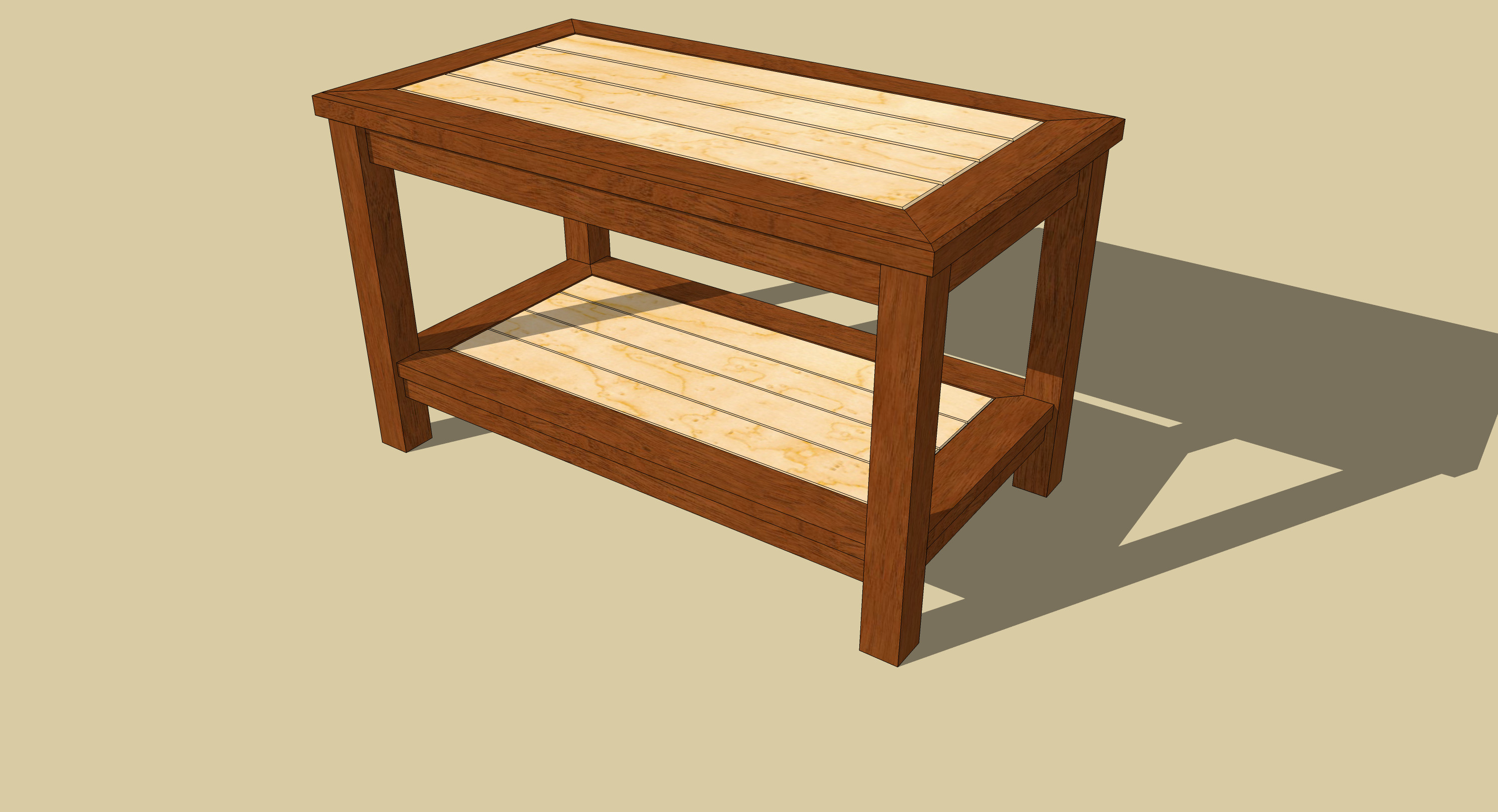 Best ideas about Coffee Table Plans . Save or Pin DIY Woodworking Plan Coffee Table Wooden PDF balsa wood Now.