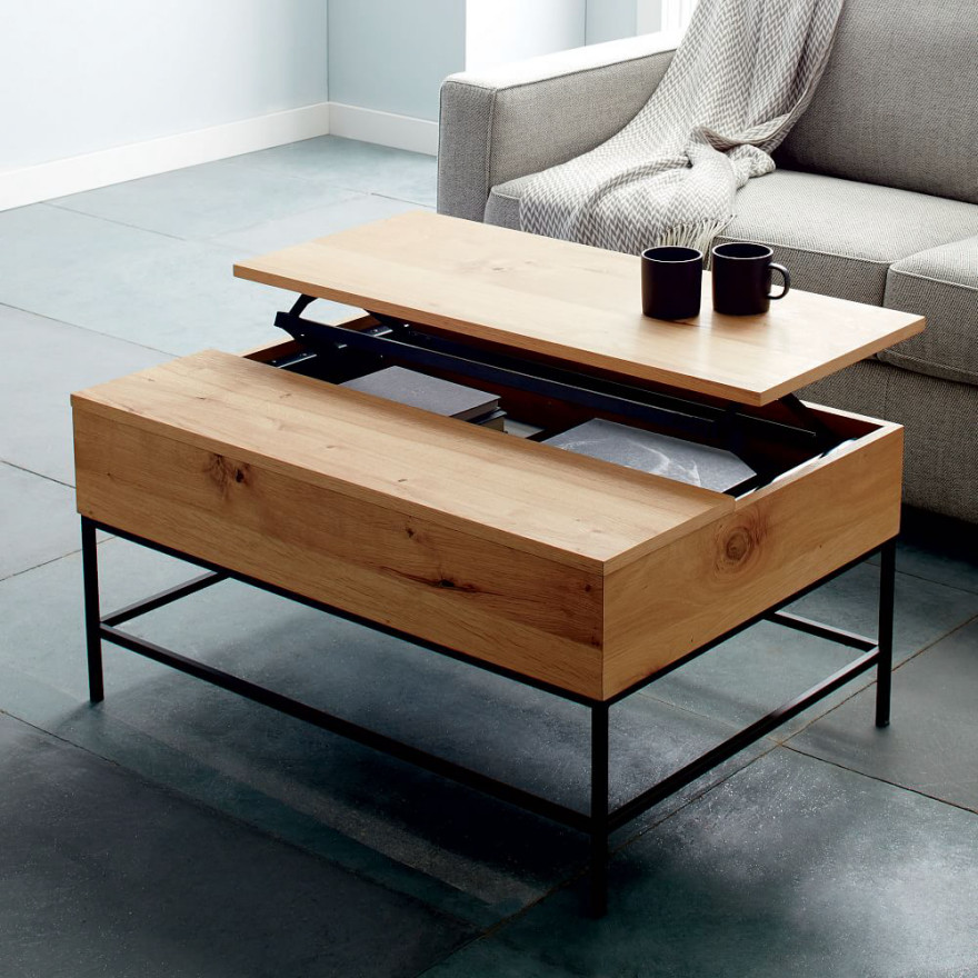 Best ideas about Coffee Table With Storage . Save or Pin 10 Coffee Tables Designed for Storage Core77 Now.