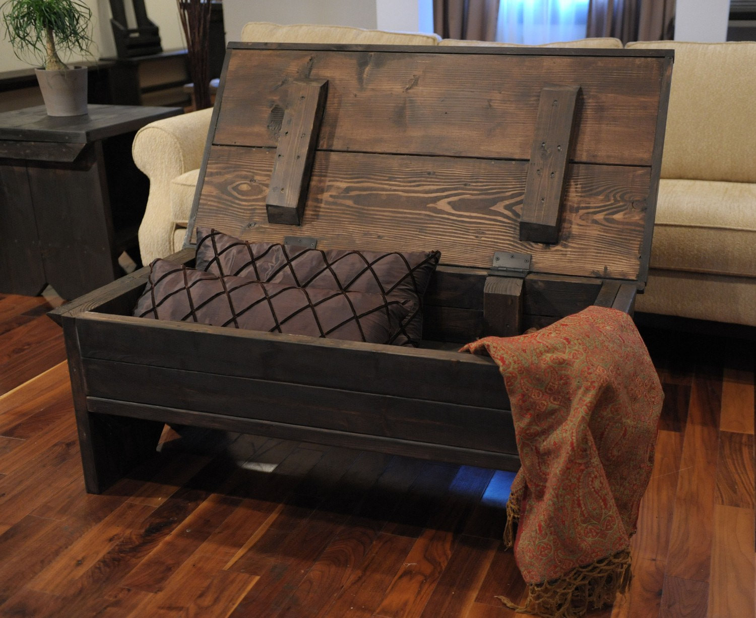 Best ideas about Coffee Table With Storage . Save or Pin 4 foot coffee table with storage Now.
