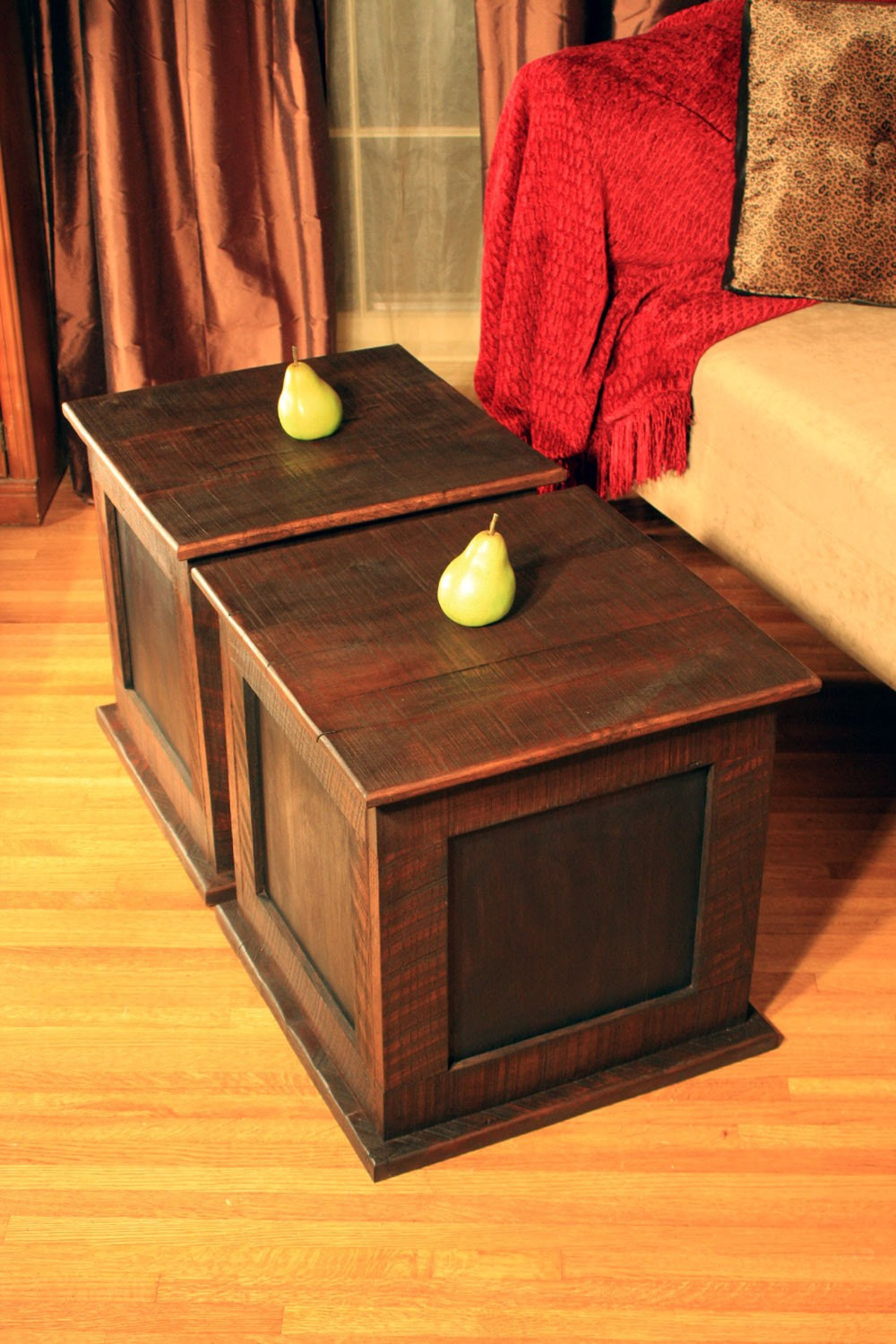 Best ideas about Coffee Table With Storage . Save or Pin Storage Cube Coffee Table Reclaimed Wood Rustic Now.