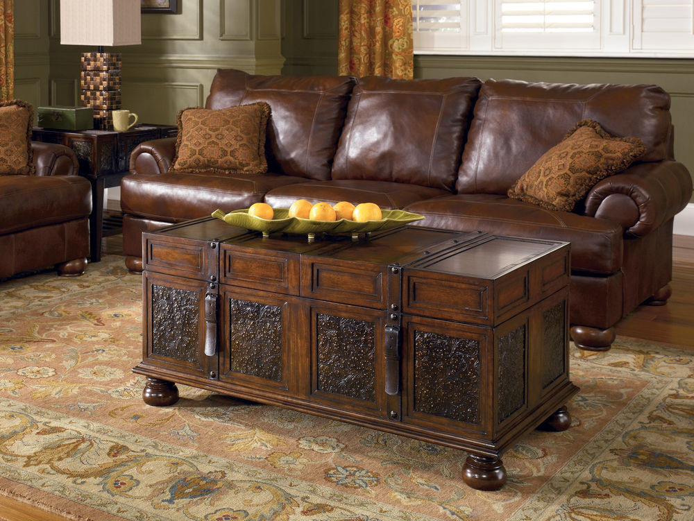 Best ideas about Coffee Table With Storage . Save or Pin DARK BROWN RECTANGULAR COCKTAIL COFFEE TABLE VINTAGE Now.