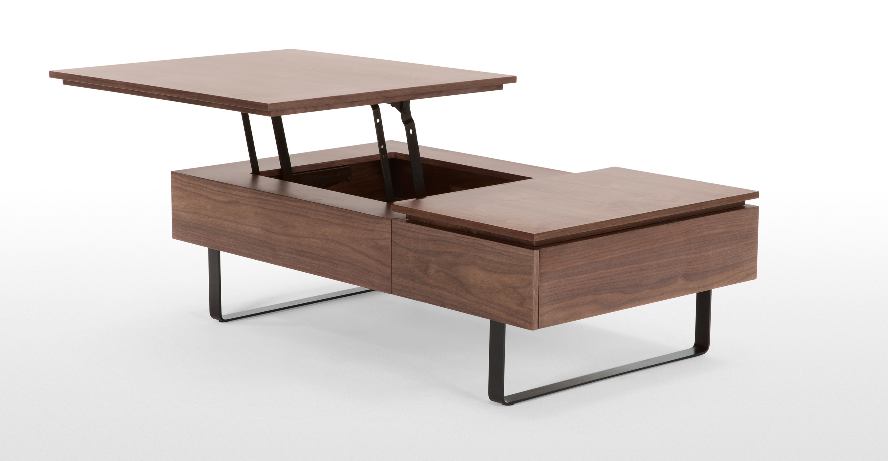 Best ideas about Coffee Tables With Storage . Save or Pin Flippa Functional Coffee Table with Storage Walnut Now.