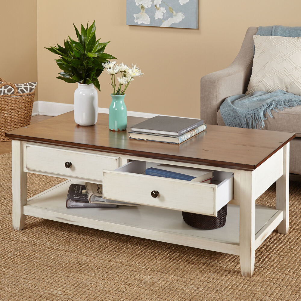 Best ideas about Coffee Tables With Storage . Save or Pin Modern Coffee Table Contemporary Storage Drawers Accent Now.