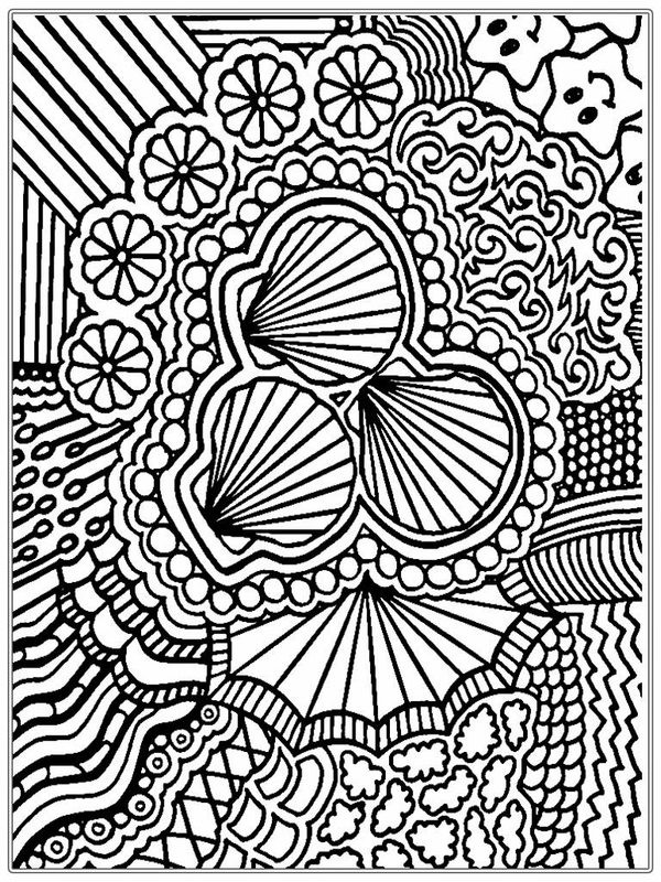 Best ideas about Colorama Free Coloring Pages . Save or Pin Kolorowanki dla dorosłych Trudne do wydruku część 6 Now.