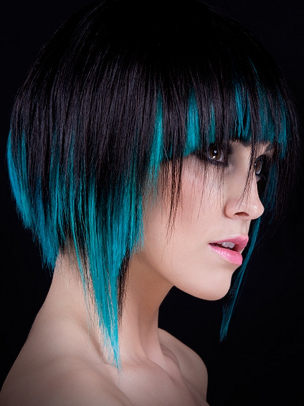Best ideas about Colored Hairstyles . Save or Pin Colored Hair Highlights Ideas Now.