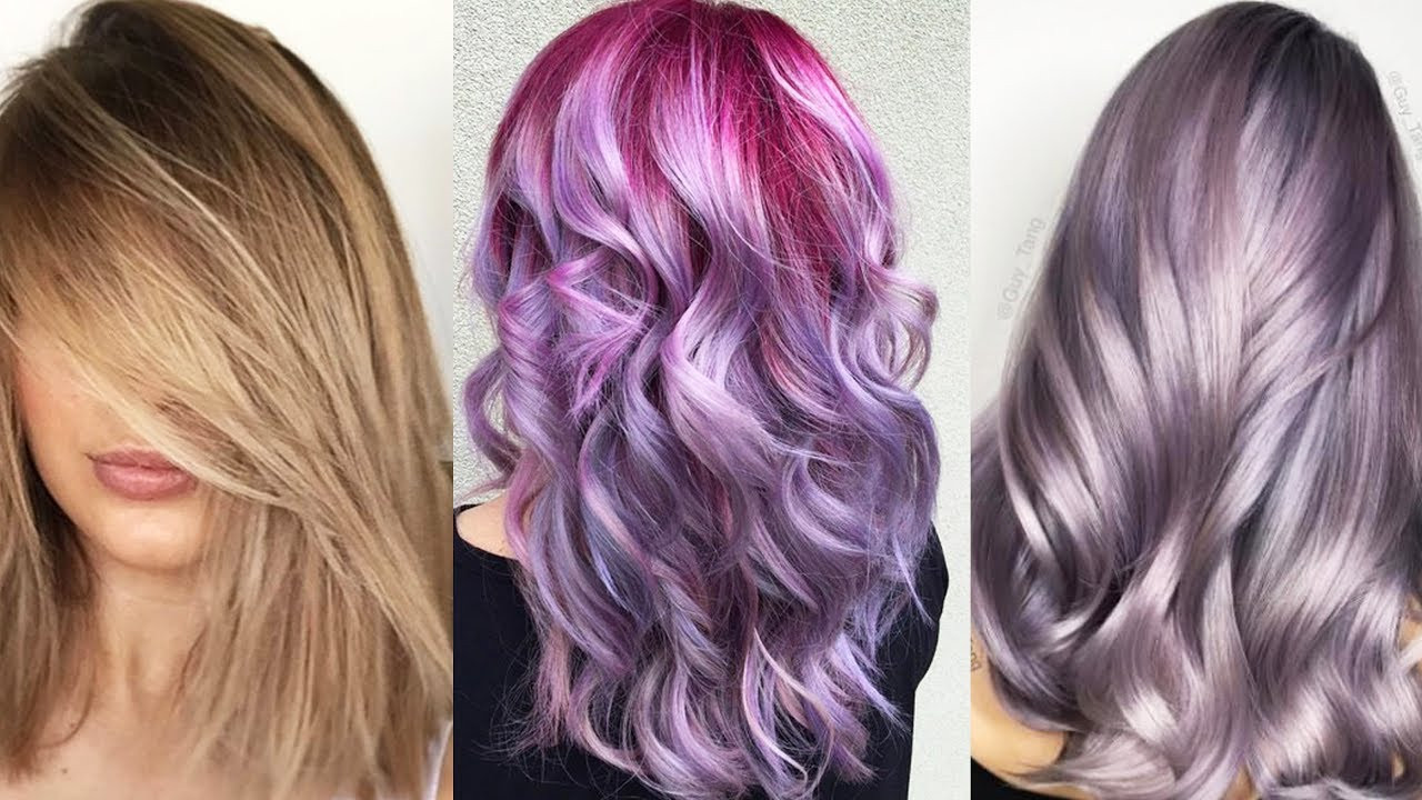 Best ideas about Colored Hairstyles . Save or Pin New Hair color & Best Hairstyles Tutorial 2017 Best and Now.