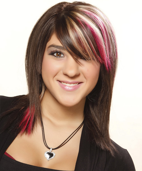 Best ideas about Colored Hairstyles . Save or Pin 30 Beautiful Medium Hairstyle to Try Now – The WoW Style Now.