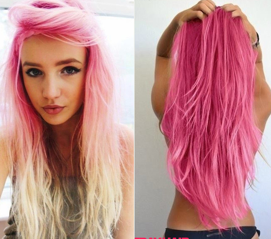Best ideas about Colored Hairstyles . Save or Pin 20 Pink Hairstyle Pics – Hair Color Inspiration – StrayHair Now.