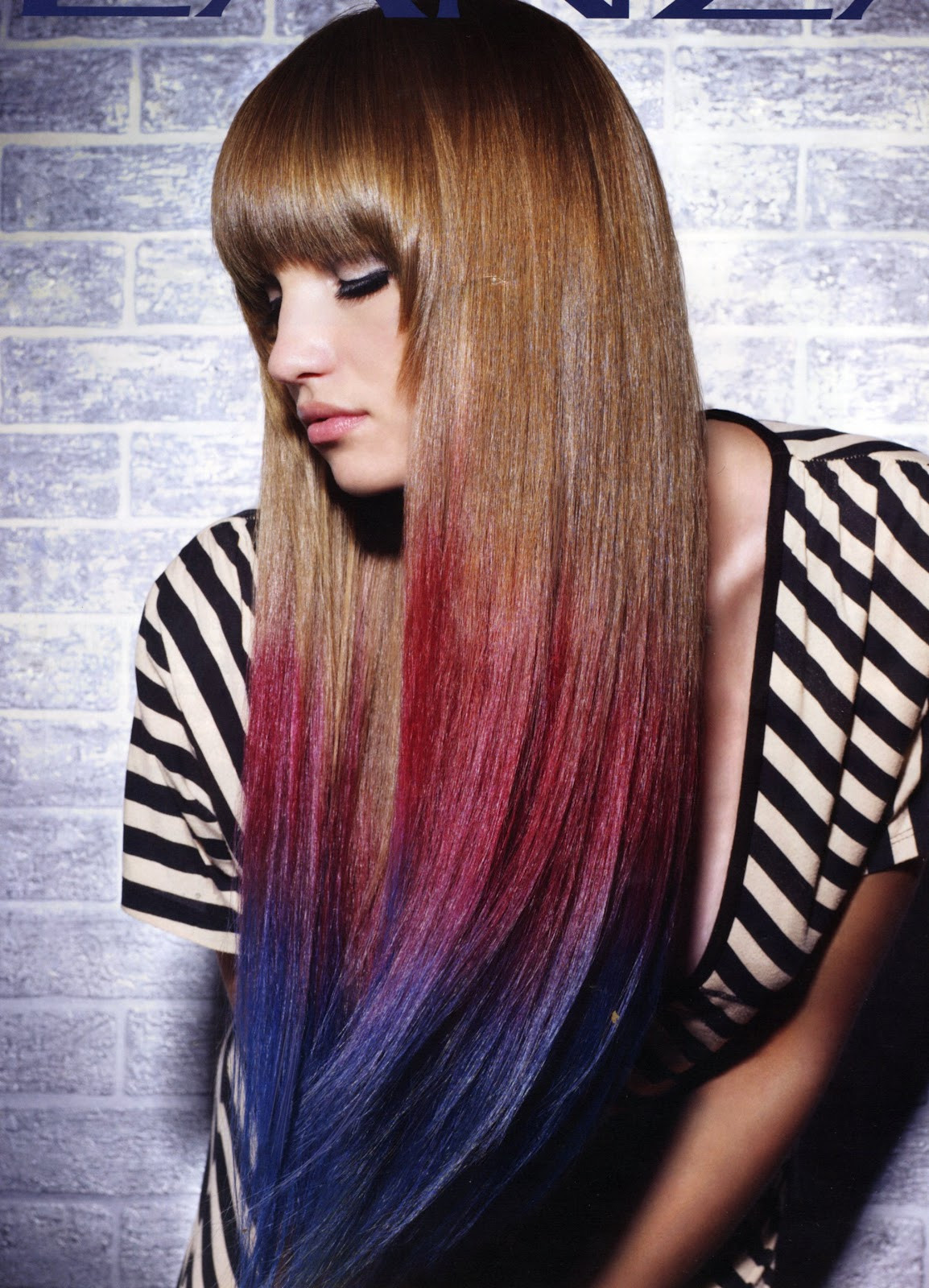 Best ideas about Colored Hairstyles . Save or Pin How to Use Colored Hair Chalks Tips and Tricks Now.