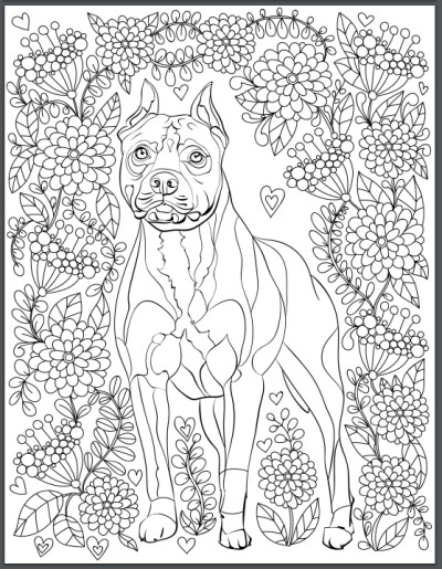 Best ideas about Coloring Pages For Adults Dogs . Save or Pin De stress With Dogs Downloadable 10 Page Coloring Book Now.