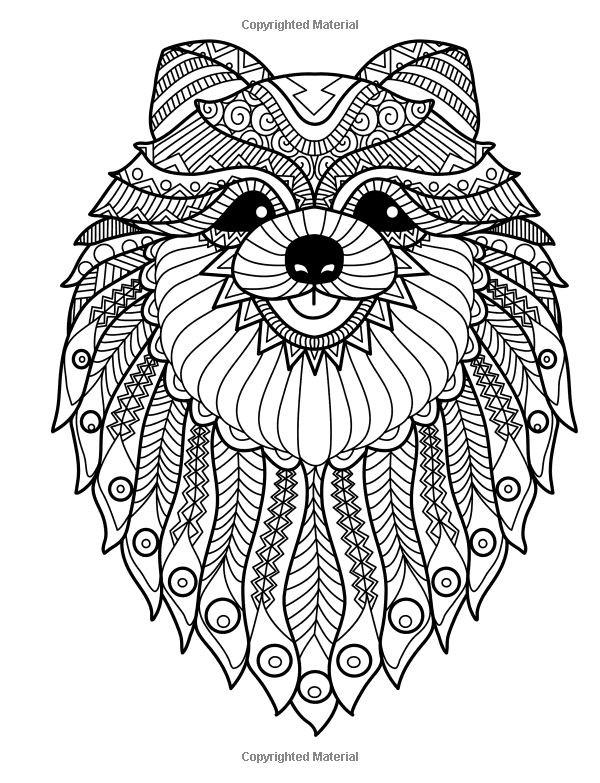 Best ideas about Coloring Pages For Adults Dogs . Save or Pin Doodle Dogs Coloring Books for grownups Featuring Over 30 Now.
