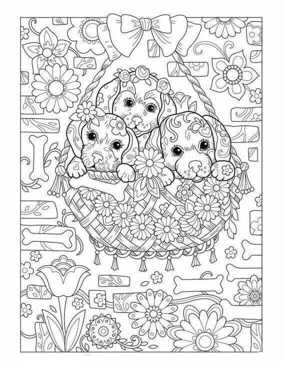 Best ideas about Coloring Pages For Adults Dogs . Save or Pin 30 Free Printable Puppy Coloring Pages Now.