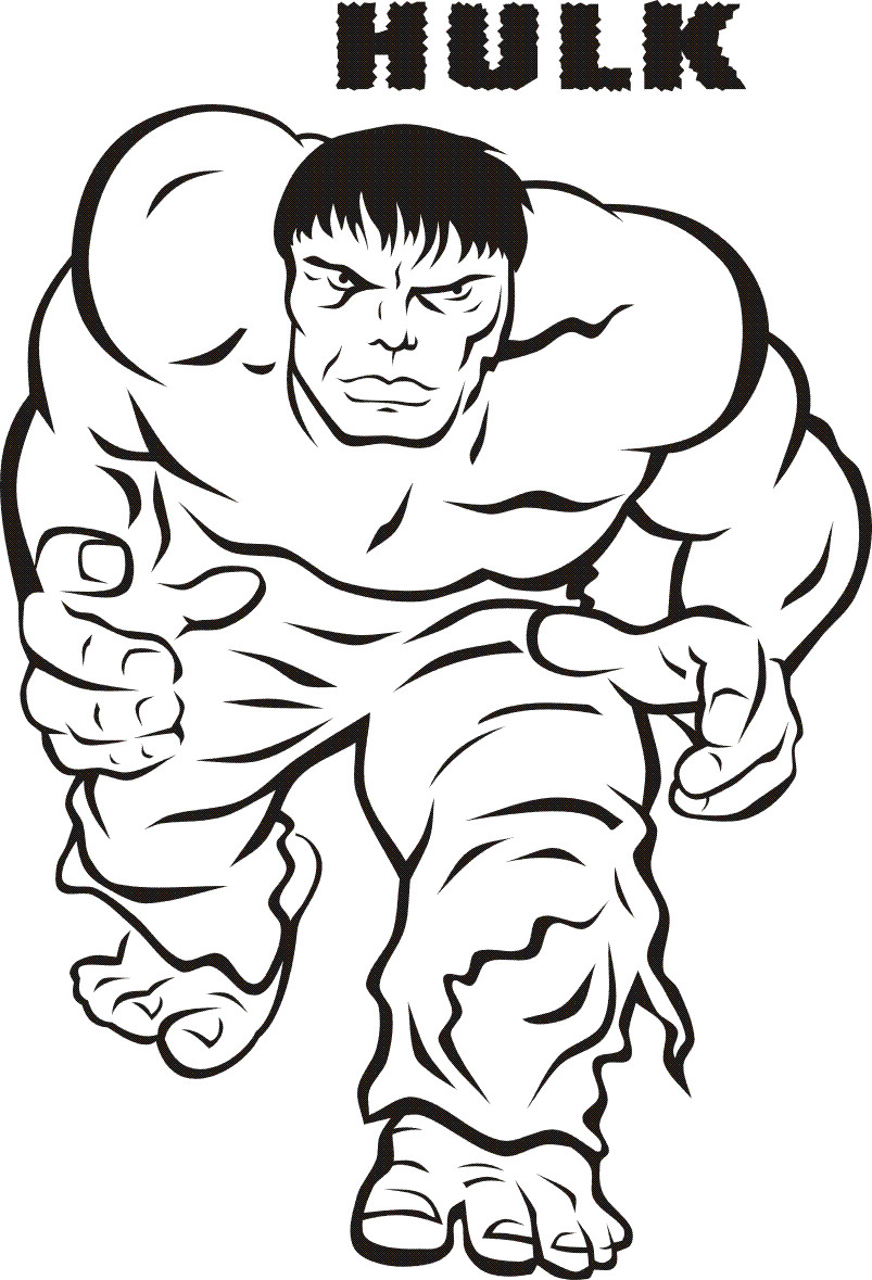 Best ideas about Coloring Pages For Boys 6 And Up . Save or Pin Hulk Super héros – Coloriages à imprimer Now.