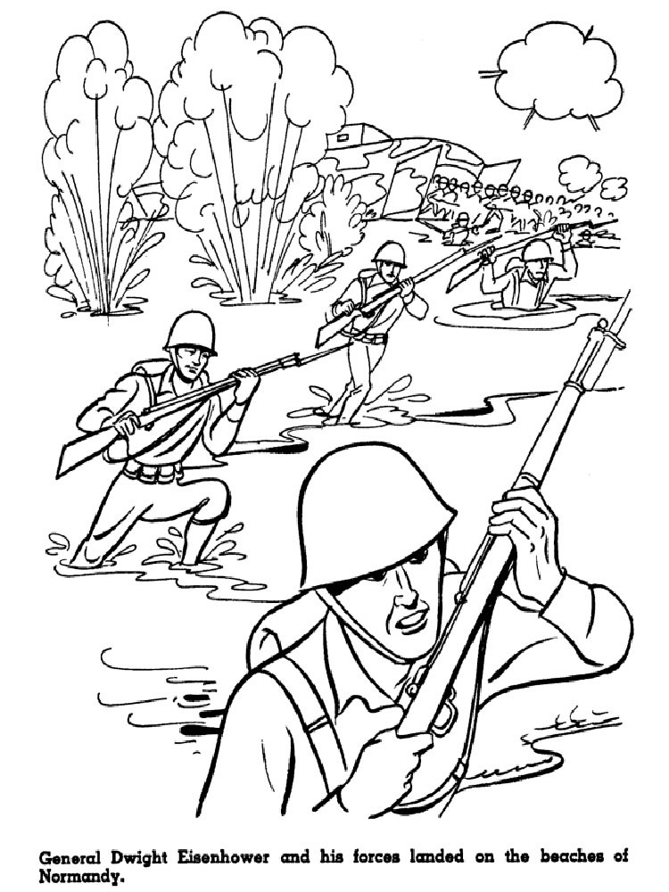 Best ideas about Coloring Pages For Boys 6 And Up . Save or Pin Military coloring pages Free Printable Military coloring Now.