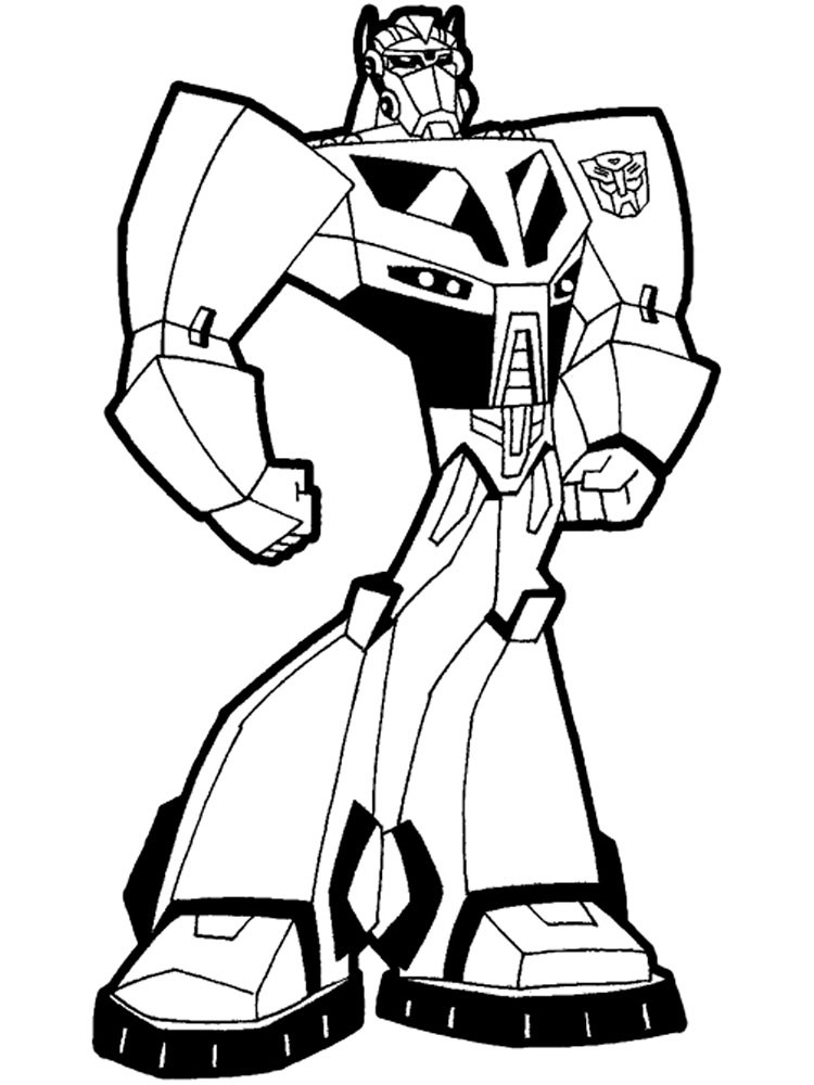 Best ideas about Coloring Pages For Boys 6 And Up . Save or Pin Robots and Transformers coloring pages Free Printable Now.