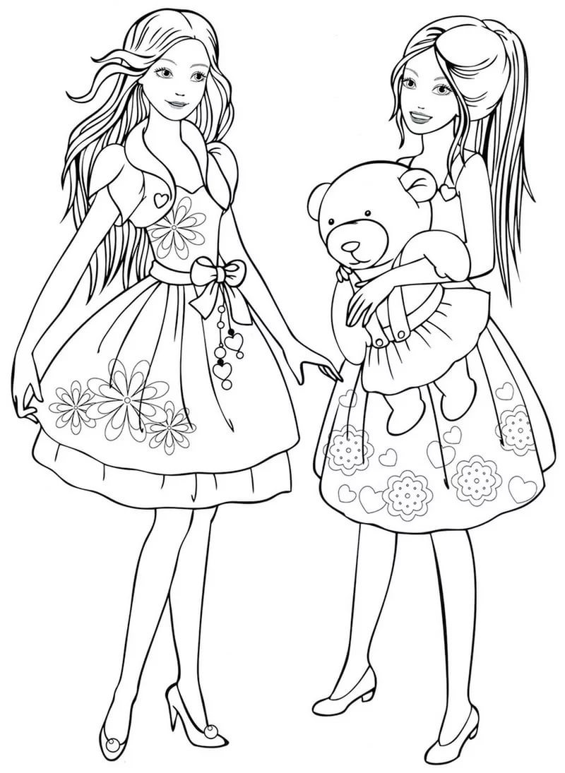 Best ideas about Coloring Pages For Girls 8 Yr . Save or Pin Coloring pages for 8 9 10 year old girls to and Now.