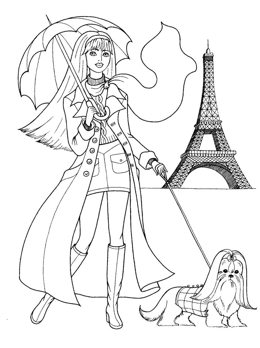 Best ideas about Coloring Pages For Girls Games . Save or Pin fashion coloring pages Now.