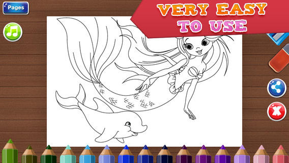Best ideas about Coloring Pages For Girls Games . Save or Pin Coloring Pages for Girls Fun Games for Kids on the App Store Now.
