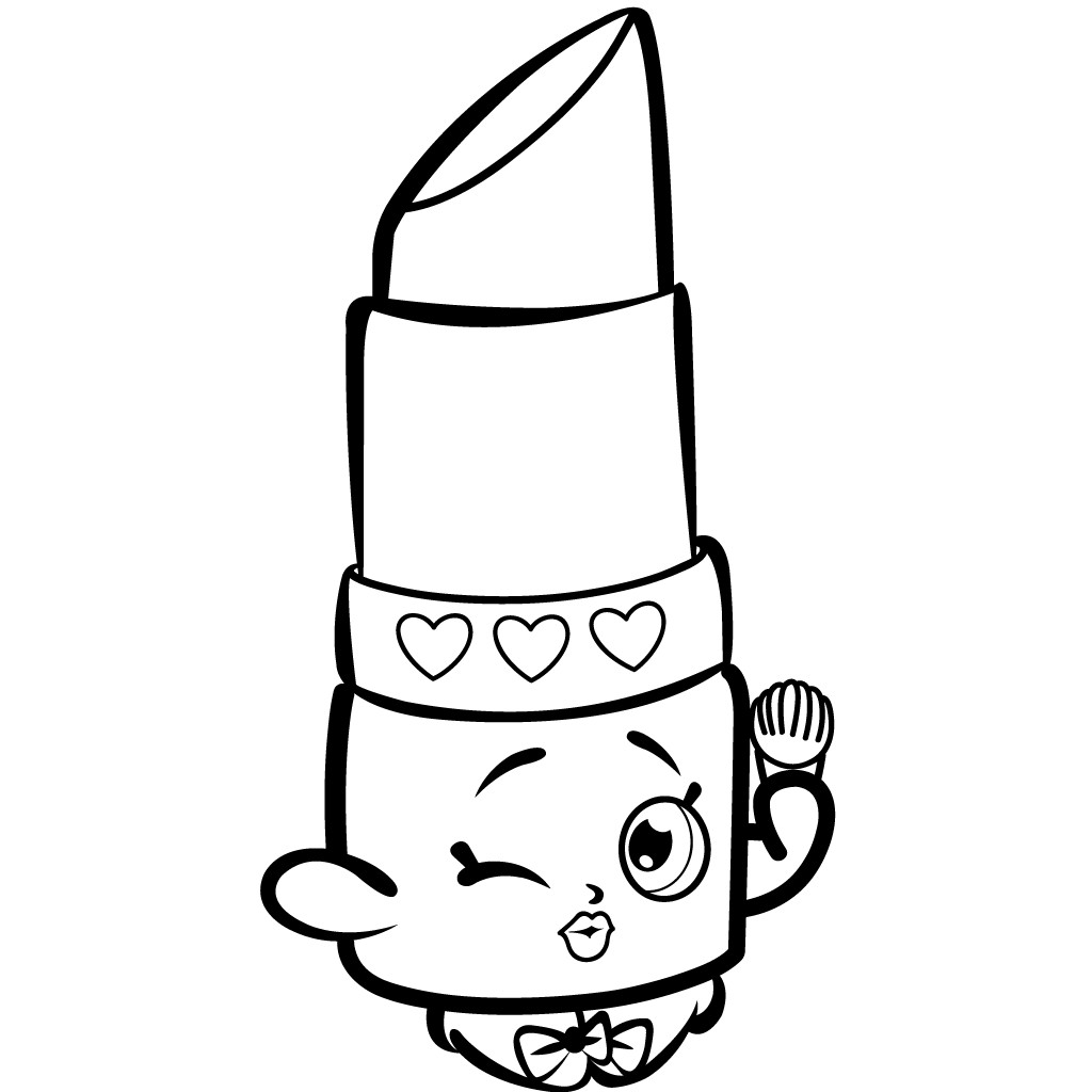 Best ideas about Coloring Pages For Girls Lds And Shopkins . Save or Pin Pin by Hólmfrður Hulda on Coloring Pinterest Now.