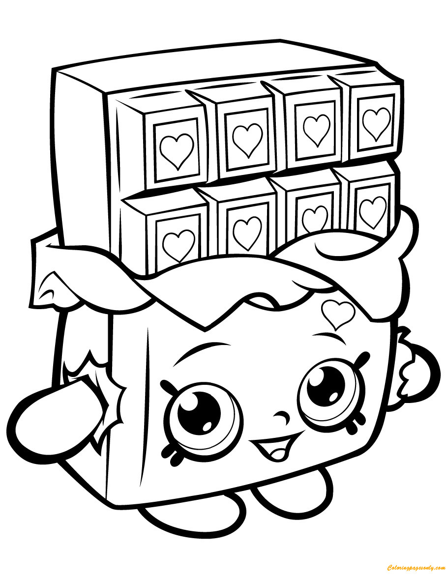 Best ideas about Coloring Pages For Girls Lds And Shopkins . Save or Pin Pin by Coloring Pages on Shopkin Coloring Pages Now.