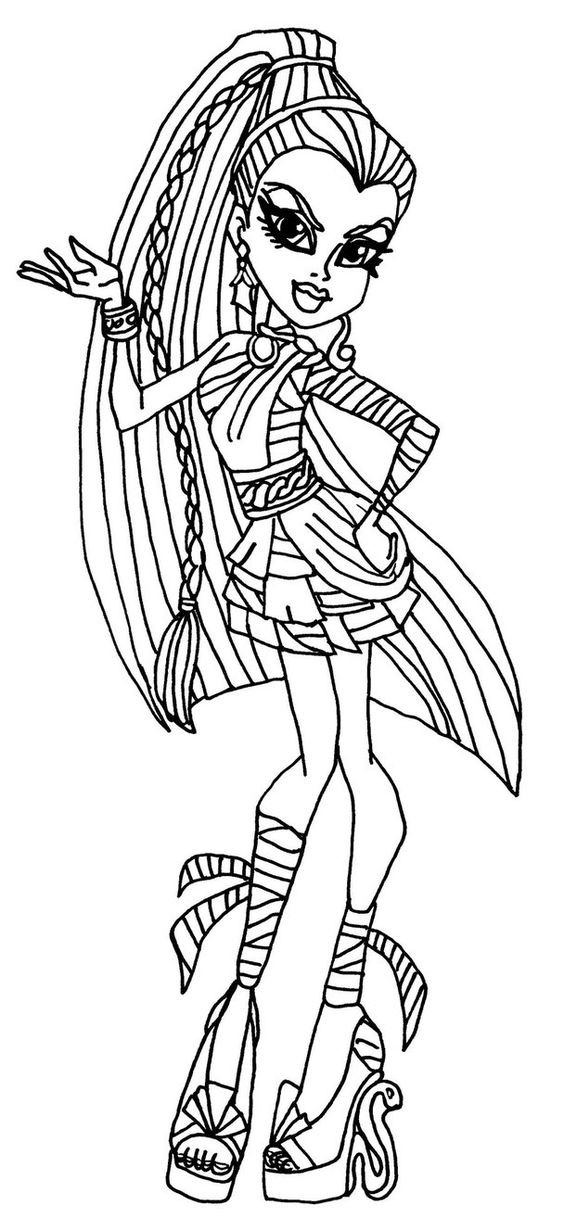 Best ideas about Coloring Pages For Girls Monster High Printable Frankin Stein . Save or Pin Monster High Colouring Pages to Print Now.