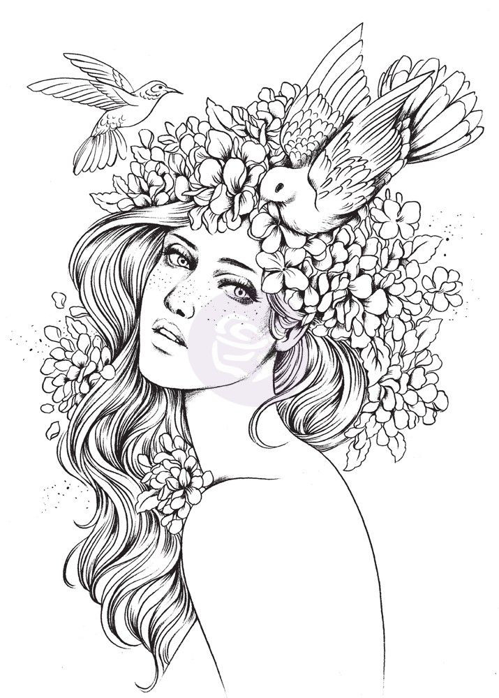 Best ideas about Coloring Pages For Girls Mouted Princess . Save or Pin Prima Princesses Collection Cling Mounted Rubber Now.