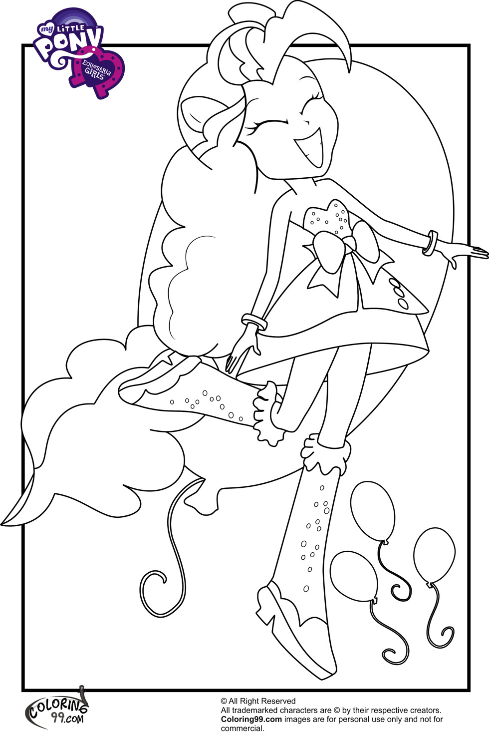 Best ideas about Coloring Pages For Girls My Little Pony Equestria Girls . Save or Pin My Little Pony Equestria Girls Coloring Pages Now.