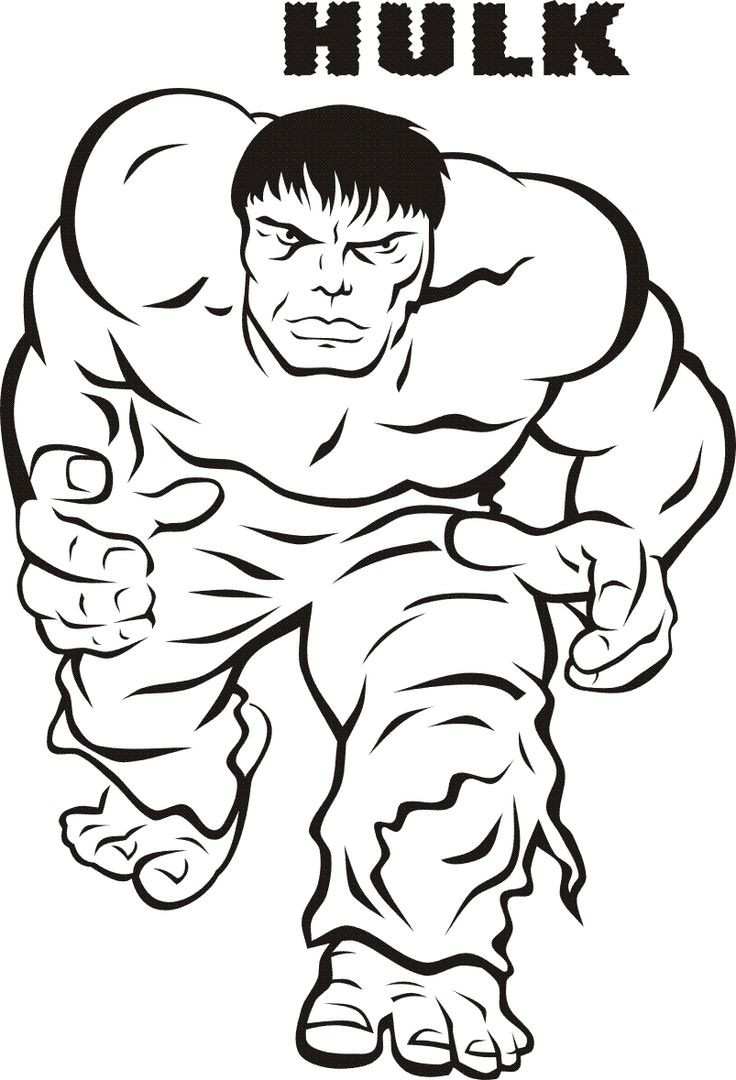 Best ideas about Coloring Pages For Girls No Boys . Save or Pin print hulk smash of kids Now.