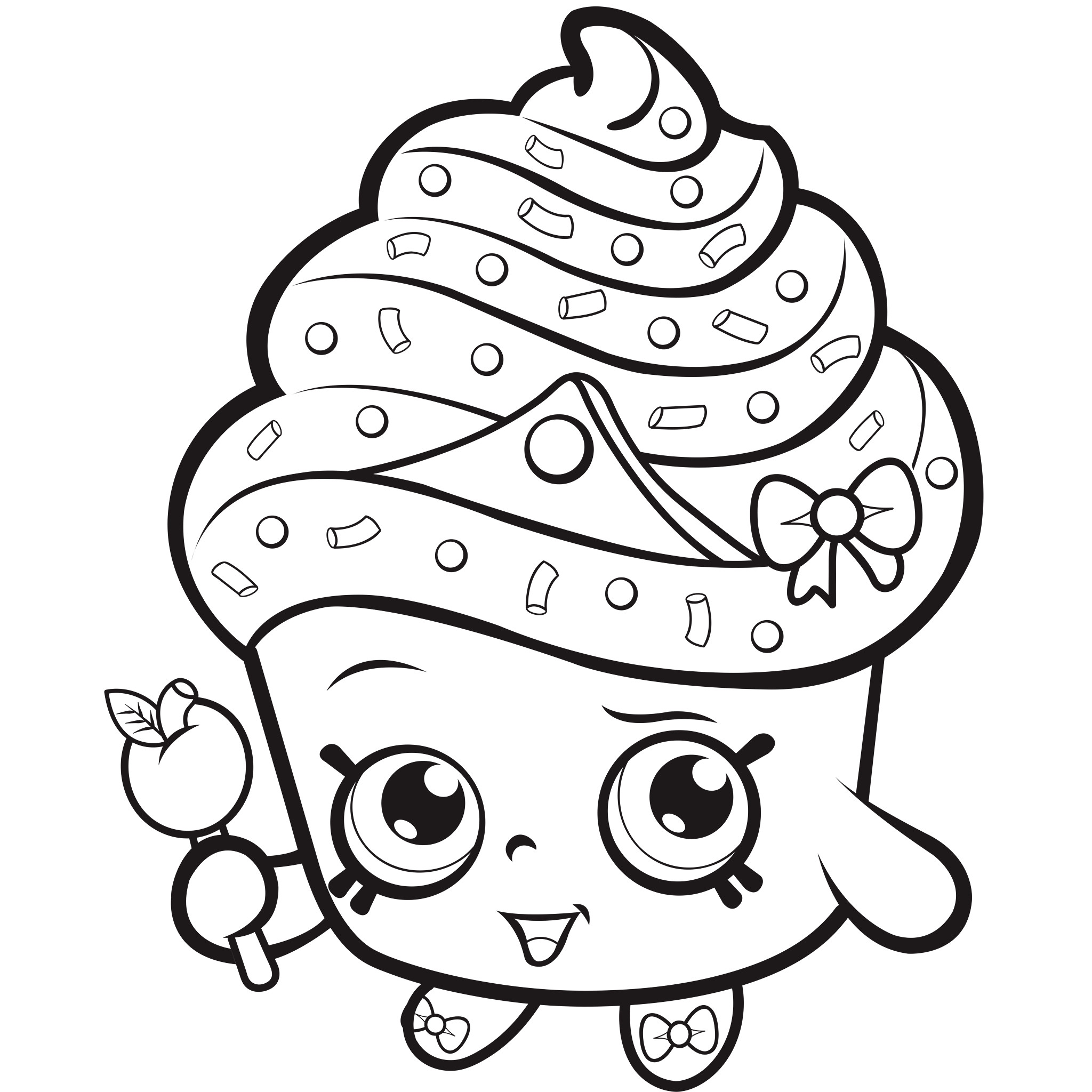 Best ideas about Coloring Pages For Girls Shopkins Cookie . Save or Pin Shopkins Coloring Pages Best Coloring Pages For Kids Now.