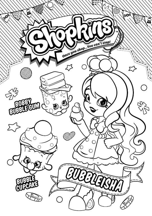 Best ideas about Coloring Pages For Girls Shopkins Cookie . Save or Pin Kids n fun Now.