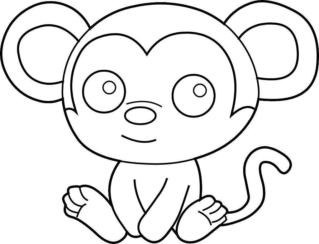 Best ideas about Coloring Pages For Kids. . Save or Pin Easy Coloring Pages Best Coloring Pages For Kids Now.